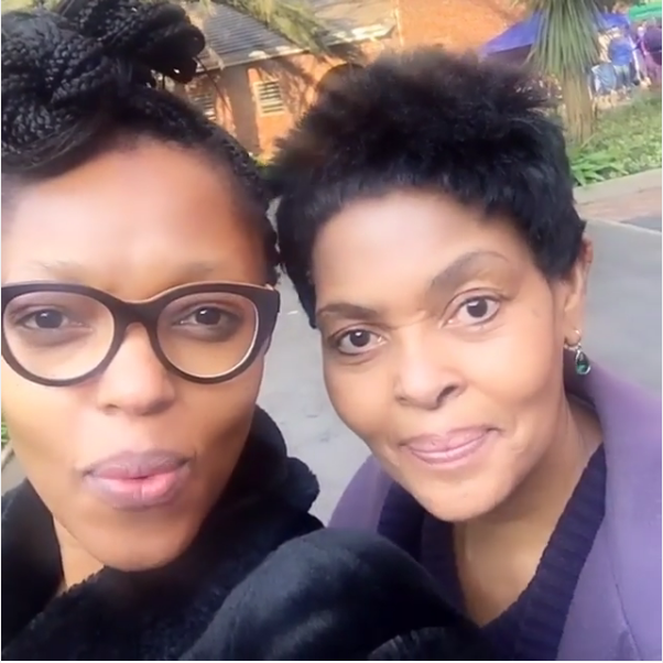 Pabi Moloi Shares A Cute Video Of Herself And Her Mom