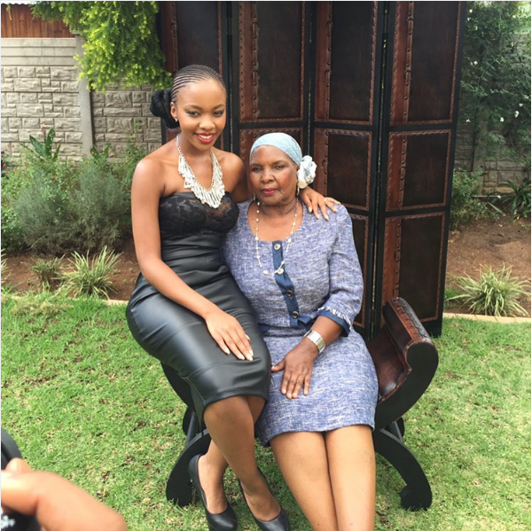 Pasi Koetle Shares A Sweet Moment With Her Mom