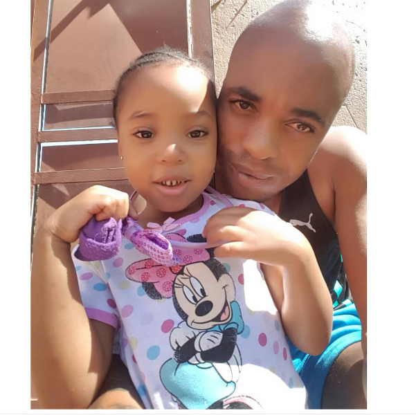 See Oupa Manyisa's Cutest Daddy Moments With His Daughter