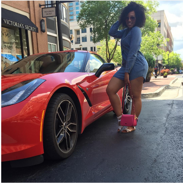 See Pics Of Actress Phindile Gwala In America