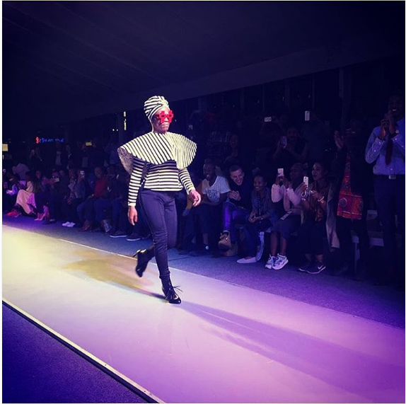 Watch Somizi Chanel His Inner Supermodel At The MBFWJ16