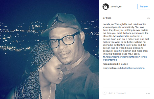 We Finally Got To See The Special Woman In Brian Themba's Life