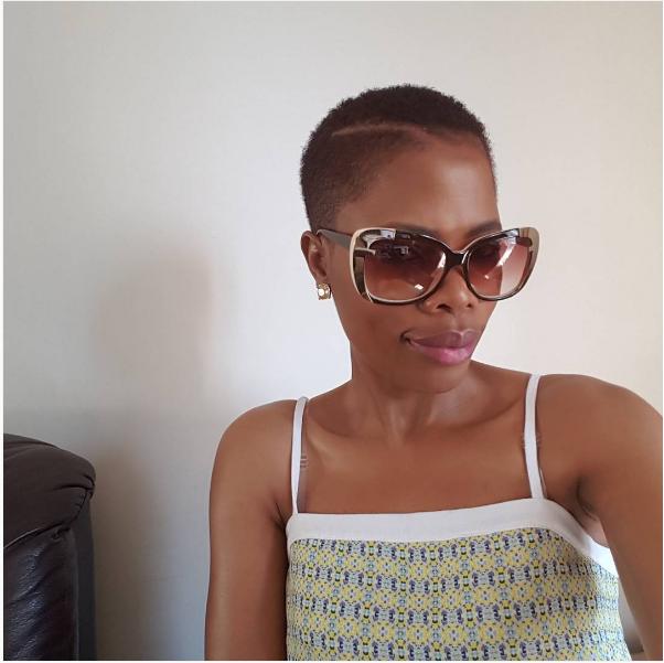 Actress Winnie Ntshaba Joins The Short Hair Gang