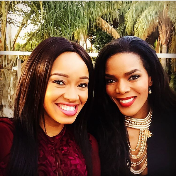 Dineo Moeketsi's Sweet Messege To Connie Ferguson After A Bad Day