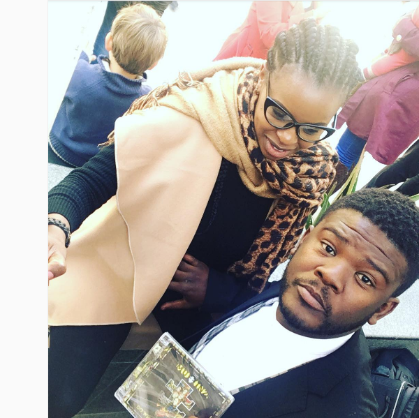 Isidingo Actor Motlatsi Mafatshe And His Wife Are Expecting