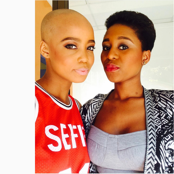 Ntando Duma's Cute B'day Shoutout To Her Co-star Mbali Zakwe