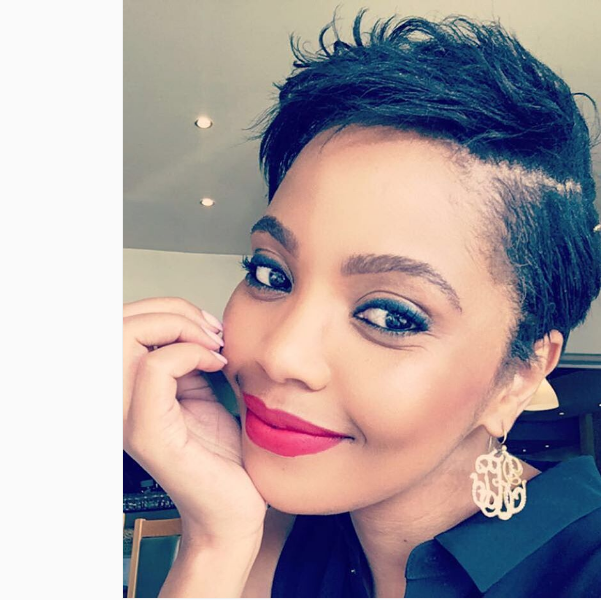 Terry Pheto Opens Up About Her Failed Relationship With DJ Sbu