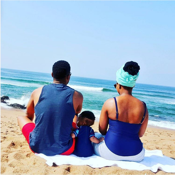 Zizo And Mayi Tshwete Serve Family Goals With Their Son