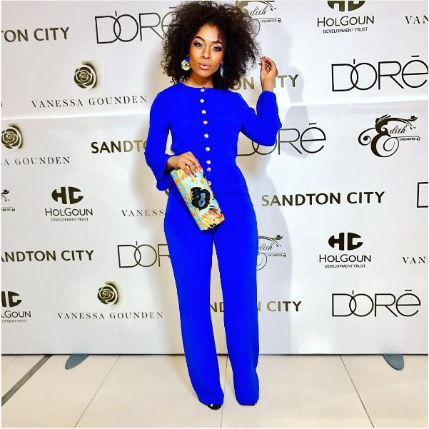 Actress Nomzamo Mbatha Joins Touch Central