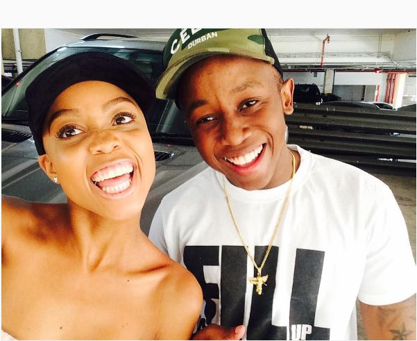 Ntando Duma Gives Her Baby Daddy Some Dating Advice