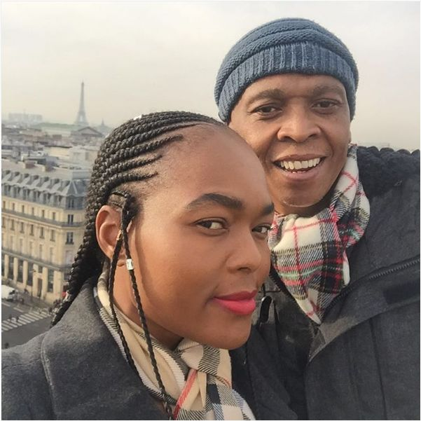 Robbie Malinga And His Wife Celebrate Their Anniversary In Paris
