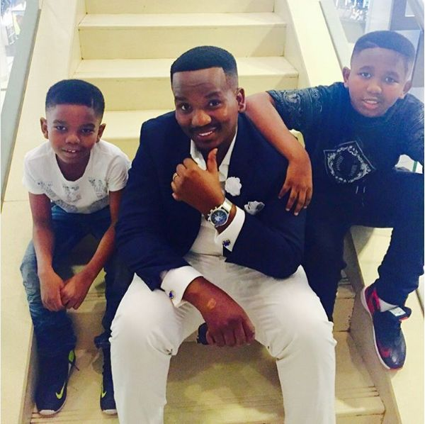 Sfiso Ncwane's Sons Share Heartbreaking Farewell To Their Dad