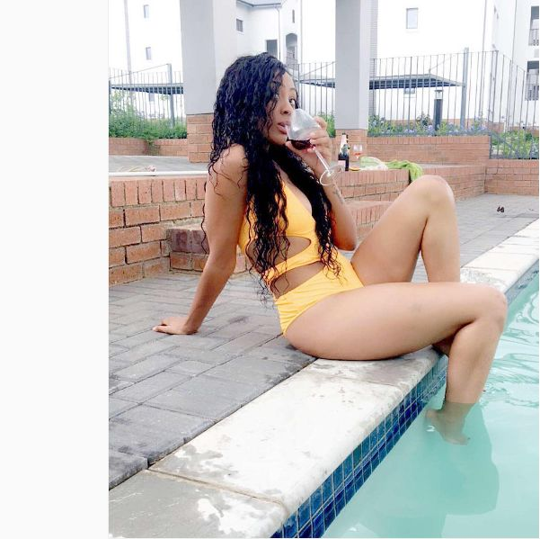 Whoa! Watch Nadia Nakai Twerking In Water