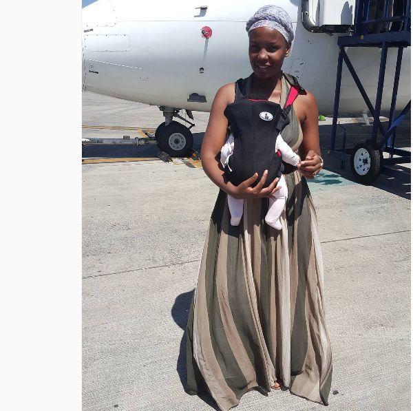 Pics Inside Mona Monyane And Her Family S Vacation Okmzansi