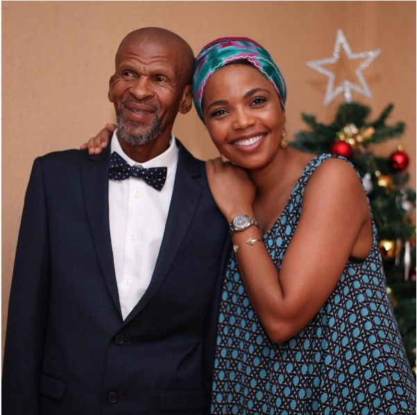 Actress Terry Pheto's Father Passes Away