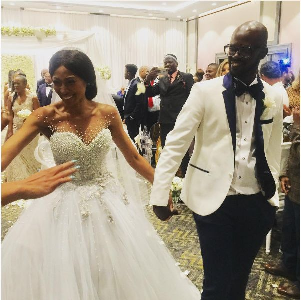 Inside Black Coffee And Mbali Mlotshwa's Luxurious Wedding