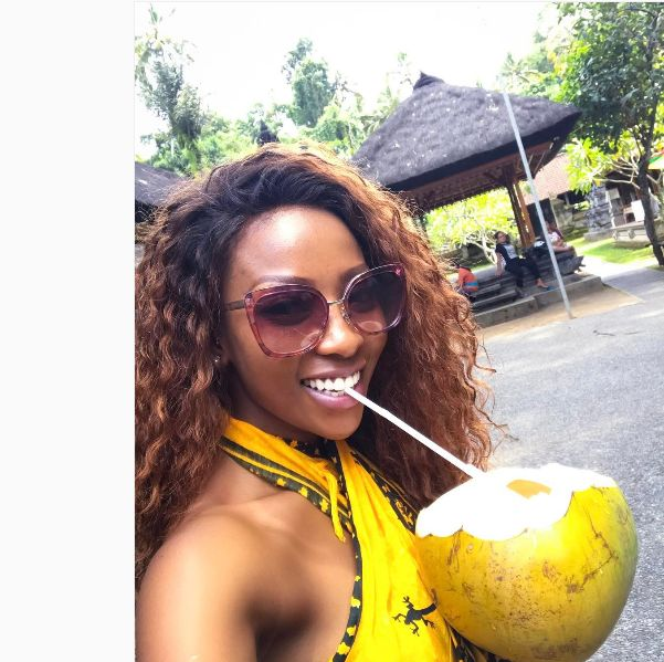 Pics! Inside Pearl Modiadie's Solo Vacation