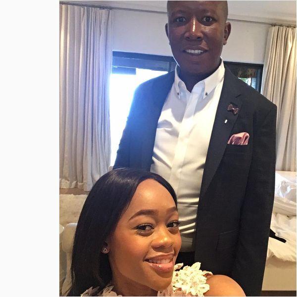 Julius Malema Proves Again He's The Most Romantic Politician In Mzansi