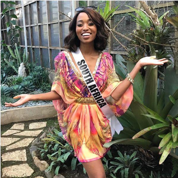 Miss SA Ntando Kunene Claps Back At Her Critics