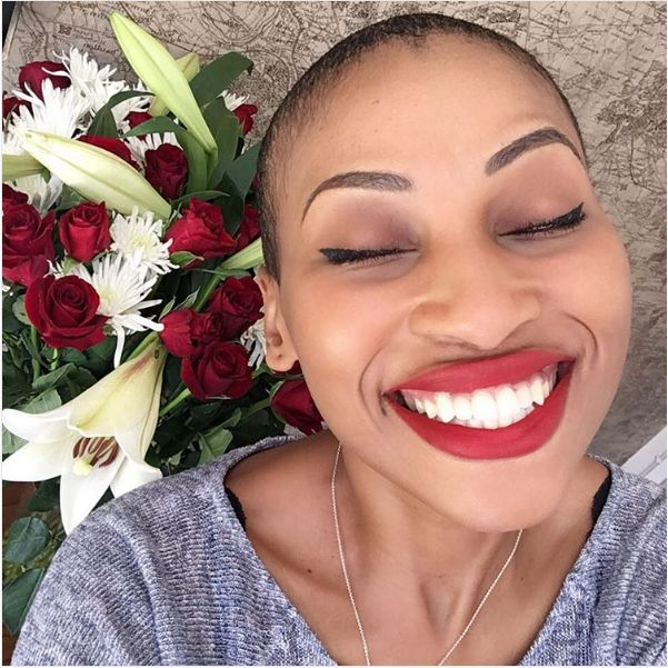 pics zonke shows off her car collection okmzansi