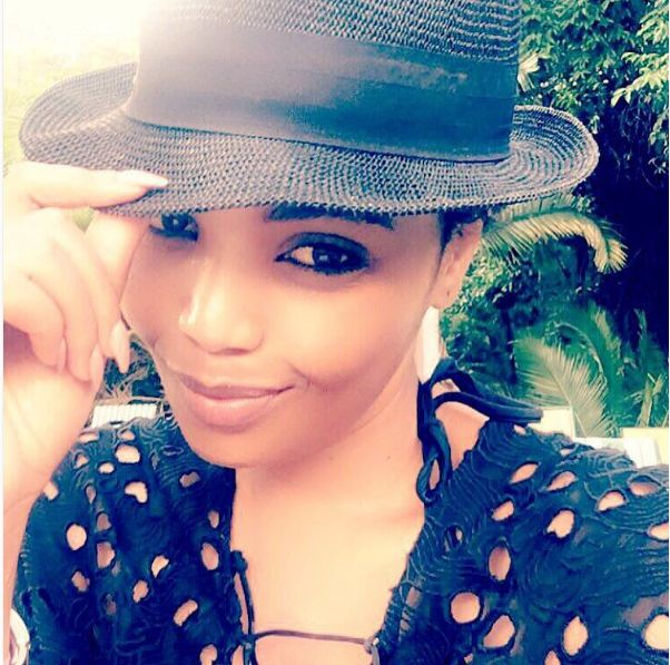Terry Pheto Flaunts Her Curvaceous Bikini Body On Vacay