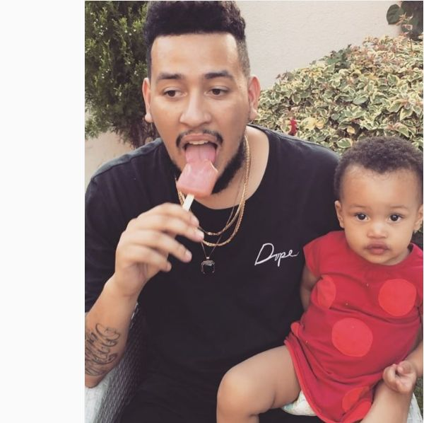 AKA Shares The Sweetest Photo Of His Daughter Kairo