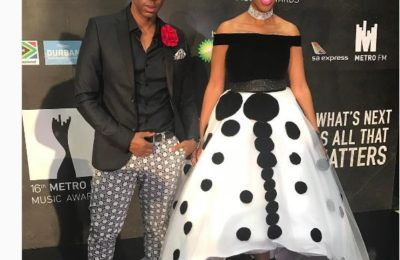 Nhlanhlka Nciza Accused Of Copying Armani's Design For Her Metro Awards Dress