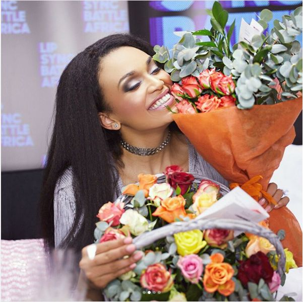Pics! Pearl Thusi Gushes Over Her Man