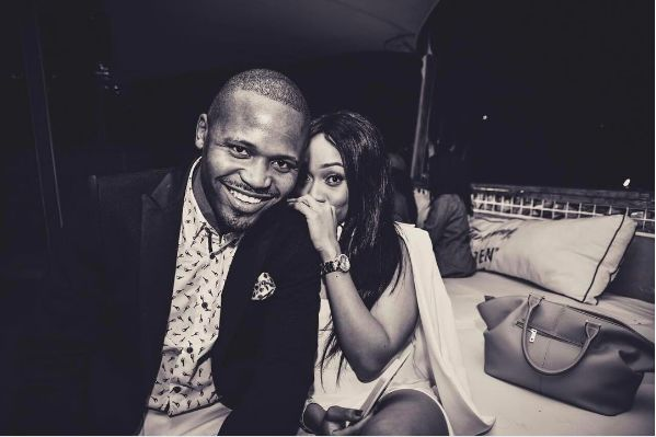 Pics! Thando Thabethe And Her Man Served Couple Goals At The Metros