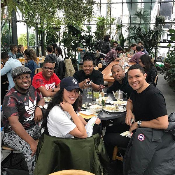 Squad Goals! Anele, Sizwe, Trevor And Khaya Living It Up In LA