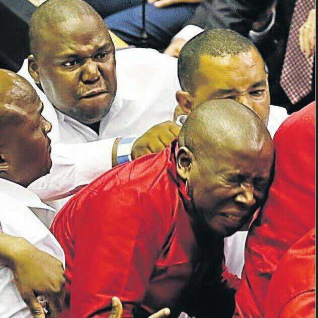 """""""They Always Go For My Balls,"""" Says Julius Malema"""