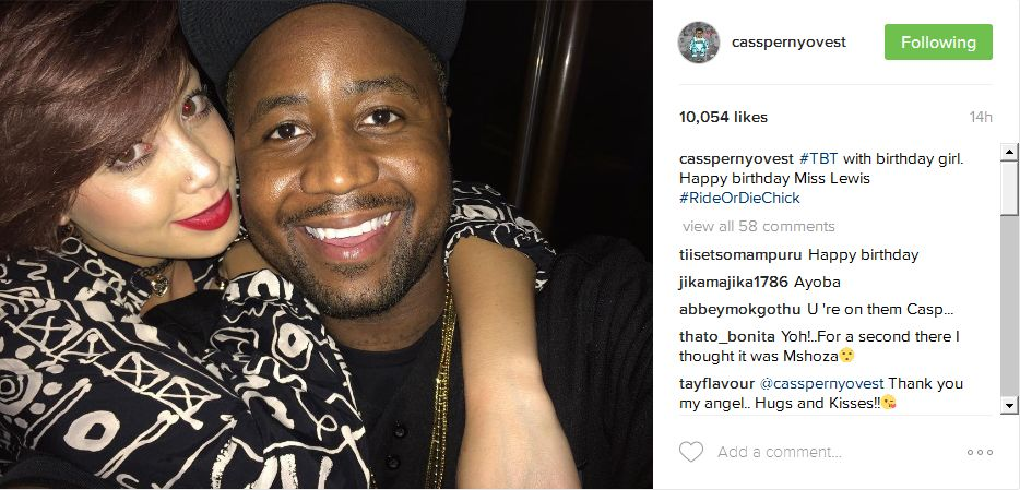 Cassper Shows Off His New Ride Or Die Chick - OkMzansi