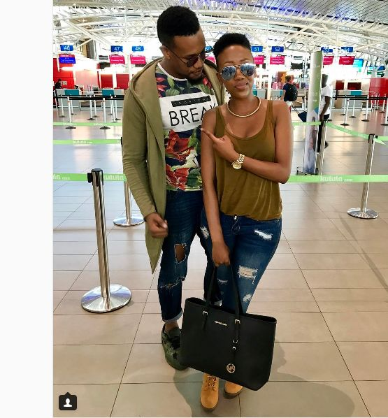 Pics! We Love This Mini Reunion Between Former Uzalo Stars Sihle And Kay Sibiya