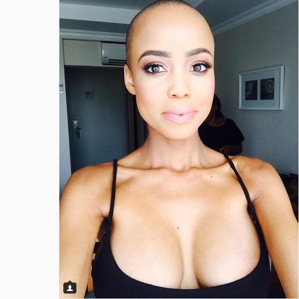 Ntando Duma Reacts To Instagram Troll Calling Her Ugly