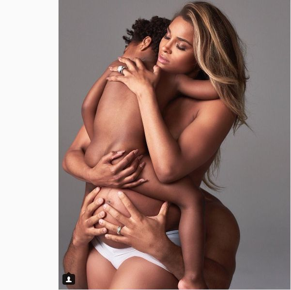 Pics! Ciara Shows Off Her Baby Bump In Family Photoshoot