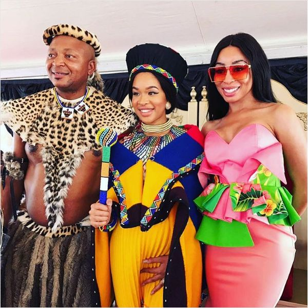 Pics! Inside Kenny Kunene's Traditional Wedding