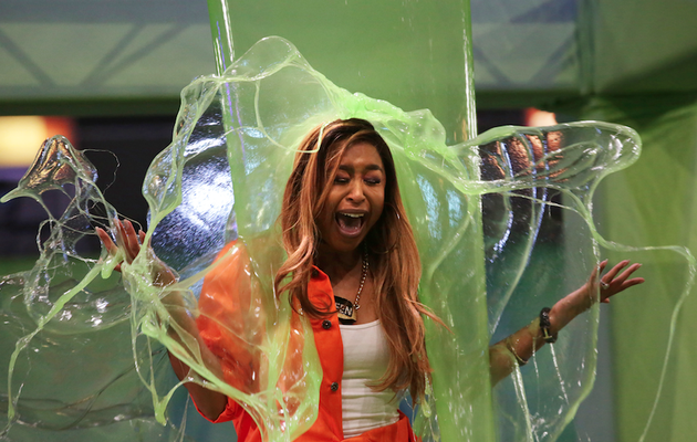 Watch! All The Celebs Who Got Slimed At The NickFest