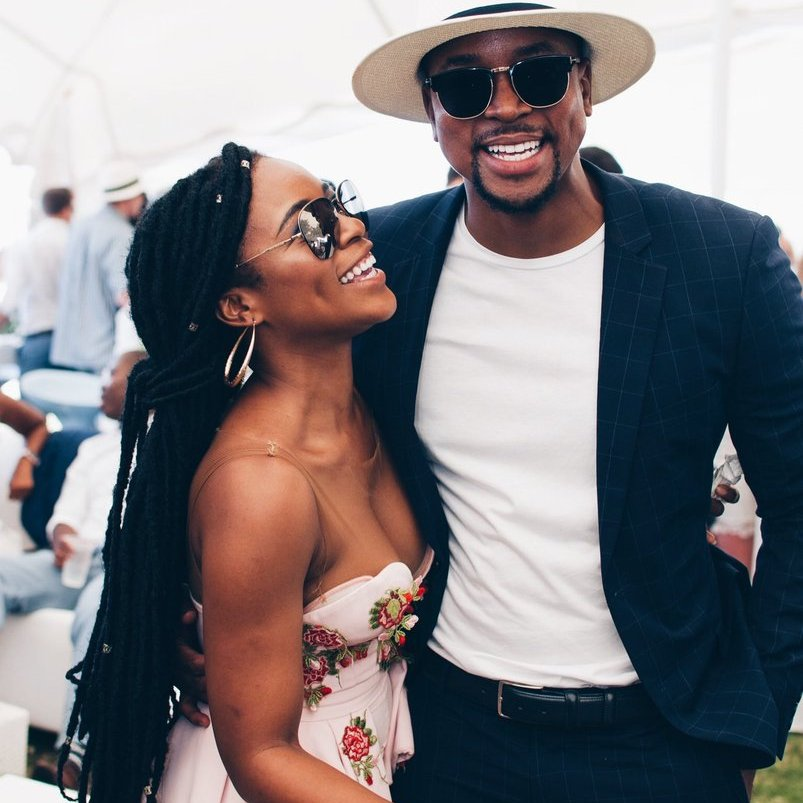 Maps And Nomzamo Shut Down The Fine People From SA Challenge With One Pic