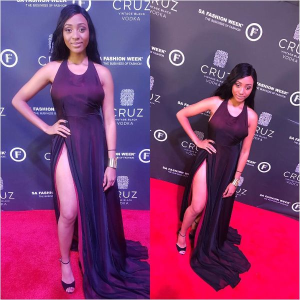 What SA Celebs Wore To The Opening Of Cruz SA Fashion Week