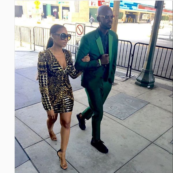 Black Coffee And Enhle Mbali Dancing To Black Motion's Mali Is Goals