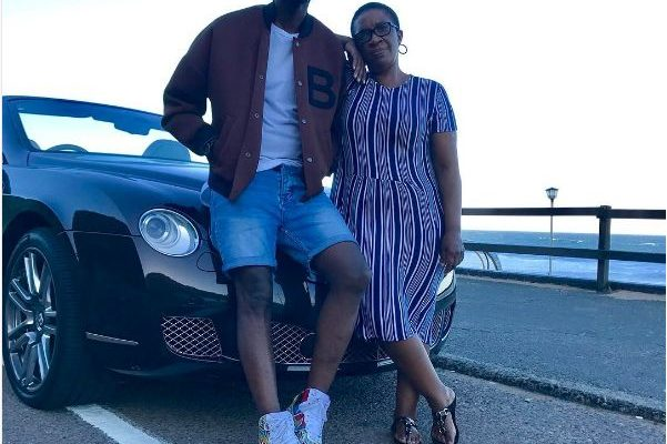 Black Coffee Takes Mom On A Ride In His R3.7 Million Bentley