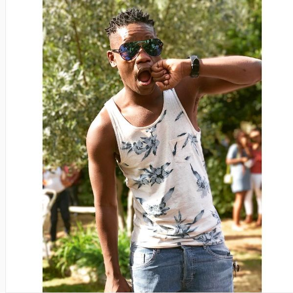 Pic! Did Clement Maosa Just Pull An Emtee?