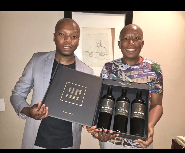 Julius Malema Applauds Tbo Touch For Making It Without Using Corrupt Money