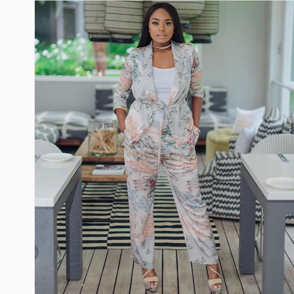 Lerato Kganyago Calls Out A Fan For Trying To Drag Her