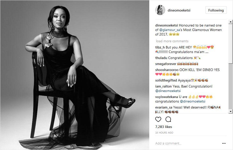 glamour sa magazine names its most glamorous women of 2017 okmzansi. Black Bedroom Furniture Sets. Home Design Ideas