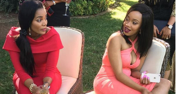 Connie Ferguson Shows Love To Her TV Daughter Dineo Moeketsi
