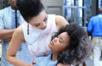Pearl Thusi And Daughter Stole The Show On The SAMAs Red Carpet