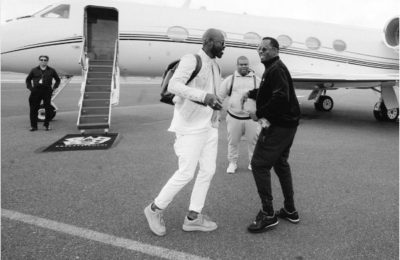 Watch! Black Coffee In Studio With Diddy And Cassie