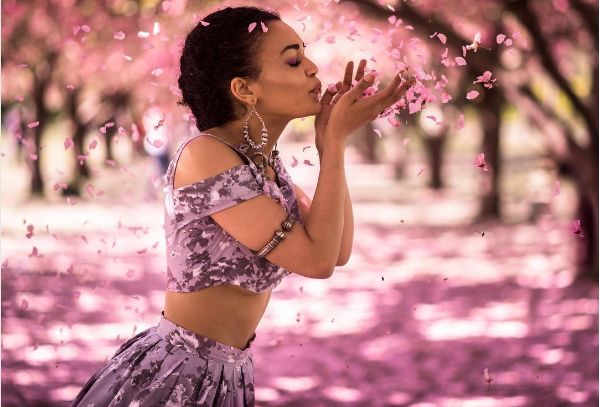 These Dreamy Photos Of Pearl Thusi In New York Are Everything