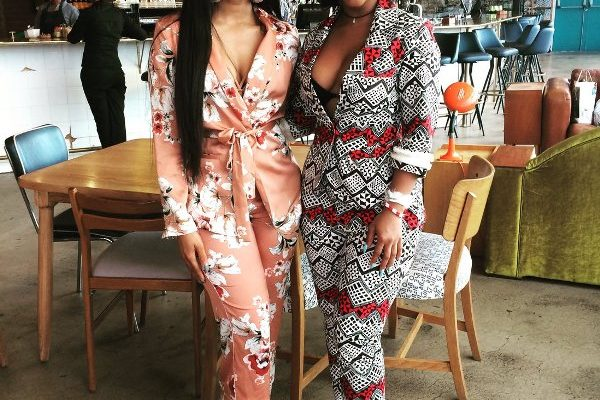 Trend Alert! SA Celebs In The Power Print Suit